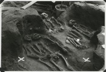 ostatky měšťanů ze středověkého města na Mariánské louce